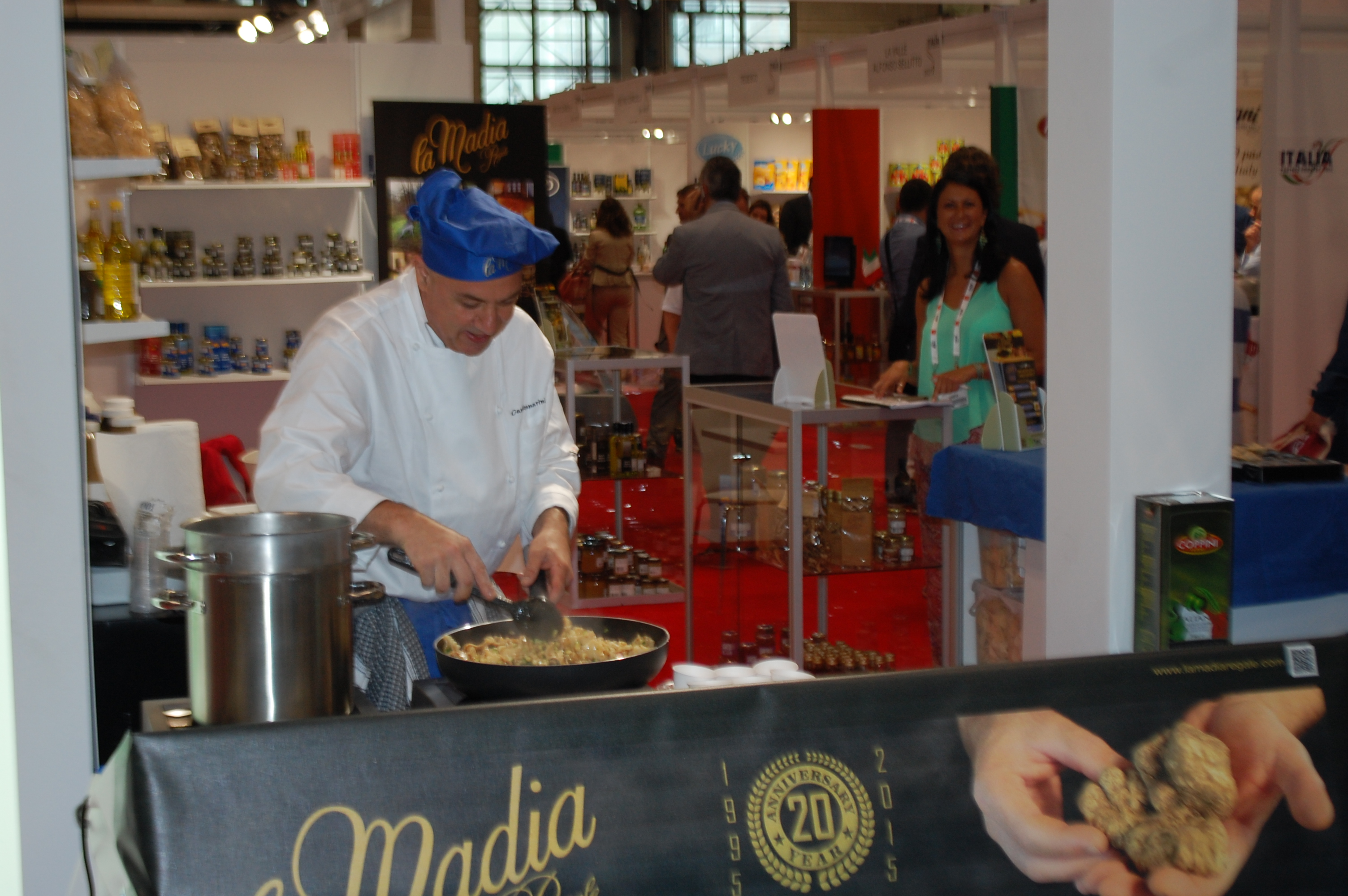 Live cooking show @ Summer Fancy Food 2015