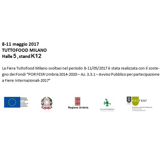 Finanziamento per partecipazione al TUTTOFOOD Milano 2017